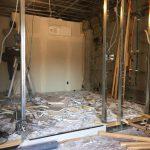 葛飾区の店舗の解体工事