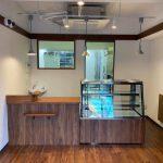 文京区白山の洋菓子店の店舗工事が完了しました。
